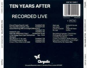 Ten Years After: Recorded Live (CD) - Bild 3