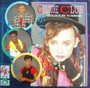 Culture Club: Colour By Numbers - Cover