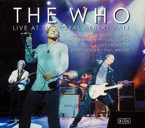 The Who: Live At The Royal Albert Hall - Cover