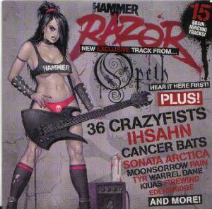 Cover - Warrel Dane: Metal Hammer 179 - Razor