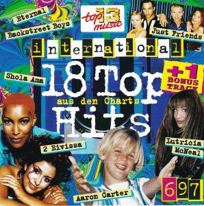 Cover - Trademark: 18 Top Hits Aus Den Charts - 6/97