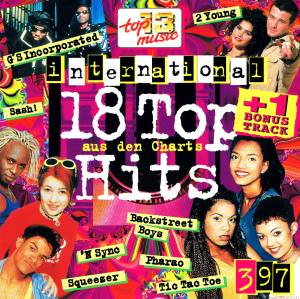 Cover - G's Incorporated: 18 Top Hits Aus Den Charts - 3/97