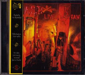 W.A.S.P.: Live... In The Raw - Cover