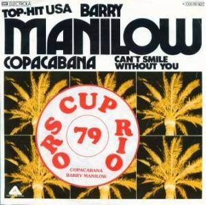 Barry Manilow: Copacabana - Cover
