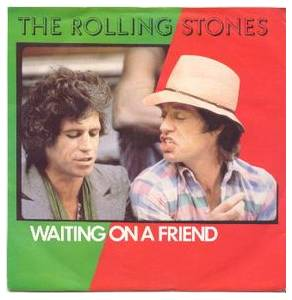 The Rolling Stones: Waiting On A Friend - Cover