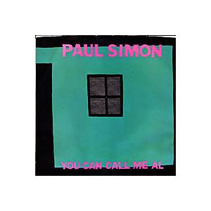 Paul Simon: You Can Call Me Al - Cover