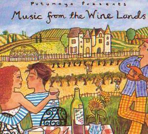 Cover - Vicky Moscholiou: Music From The Wine Lands