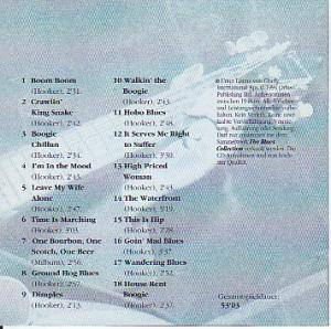 John Lee Hooker: The Blues Collection: Boogie Man (CD) - Bild 2