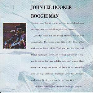 John Lee Hooker: The Blues Collection: Boogie Man (CD) - Bild 3