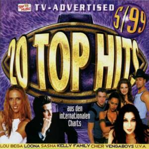Cover - Harleckinz: 20 Top Hits Aus Den Charts - 5/99