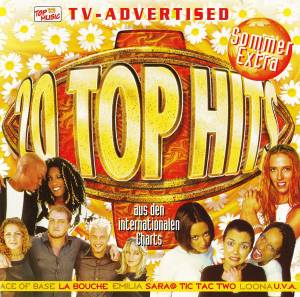 Cover - DJ Sammy Feat. Carisma: 20 Top Hits Aus Den Charts - Sommer Extra '99