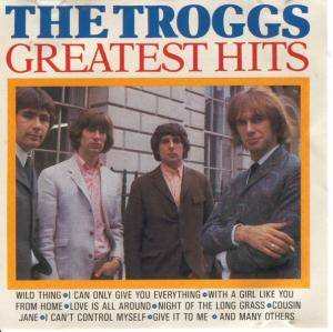 The Troggs: Greatest Hits - Cover