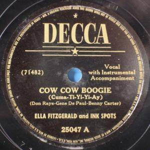 Cover - Ella Fitzgerald & The Ink Spots: Cow Cow Boogie