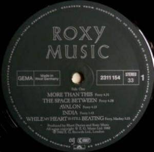 Roxy Music: Avalon (LP) - Bild 3