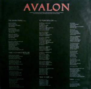 Roxy Music: Avalon (LP) - Bild 4