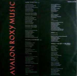 Roxy Music: Avalon (LP) - Bild 5