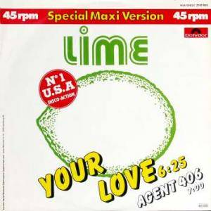 Lime: Your Love - Cover