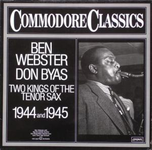 Don Byas, Ben Webster: Two Kings Of The Tenor Sax - Cover