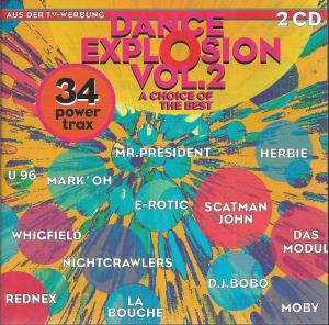 Dance Explosion Vol. 2 - Cover