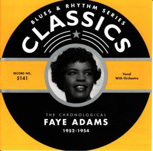 Cover - Faye Adams: Chronological Faye Adams 1952 - 1954, The