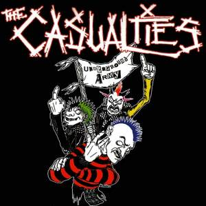 Cover - Casualties, The: Underground Army