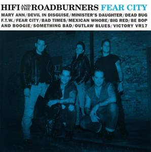 Cover - Hi Fi And The Roadburners: Fear City