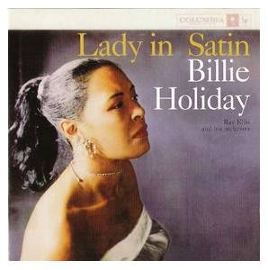 Billie Holiday: Lady In Satin - Cover