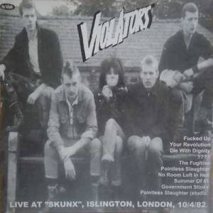 Cover - Violators: Violators / Blitz