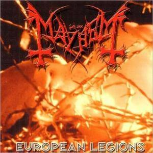 Mayhem: European Legions - Cover