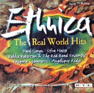 Ethnica - The Real World Hits - Cover