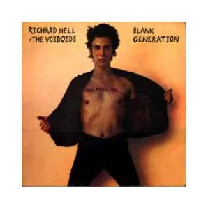 Richard Hell & The Voidoids: Blank Generation - Cover