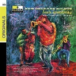 Louis Armstrong & His All-Stars: New Orleans Nights - Cover