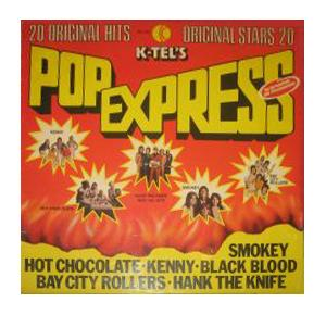 K-Tel's Pop Express - Cover