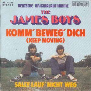Cover - James Boys, The: Komm' Beweg' Dich (Keep Moving)