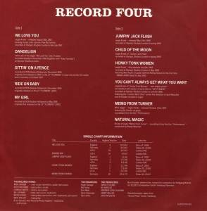 The Rest Of The Best Part 2 4 Lp 1983 Compilation Compilation Von The Rolling Stones