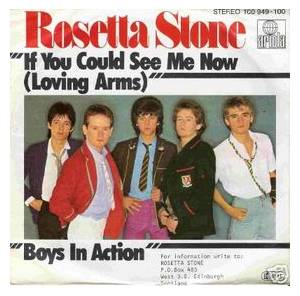 Cover - Rosetta Stone: If You Could See Me Now