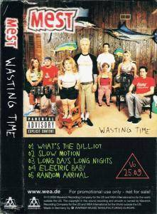 Cover - Mest: Warning: / Wasting Time