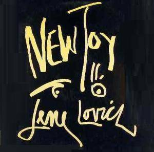 Cover - Lene Lovich: New Toy