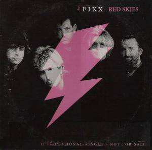 The Fixx: Red Skies - Cover