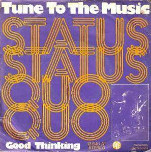 Status Quo: Tune To The Music - Cover