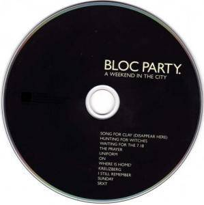 Bloc Party: A Weekend In The City (CD) - Bild 3