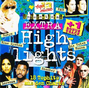 18 Top Hits Aus Den Charts - Extra Highlights 1996 - Cover