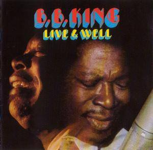 B.B. King: Live & Well - Cover