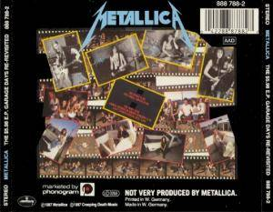 Metallica: The $5,98 E.P. - Garage Days Re-Revisited (Mini-CD / EP) - Bild 2
