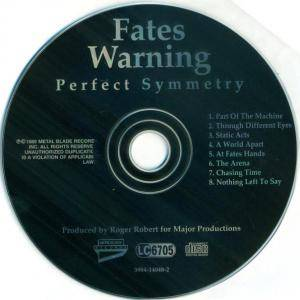 Fates Warning: Perfect Symmetry (CD) - Bild 5