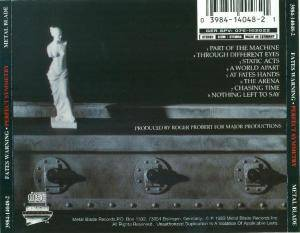 Fates Warning: Perfect Symmetry (CD) - Bild 6