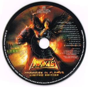 Axxis: Paradise In Flames (CD) - Bild 3