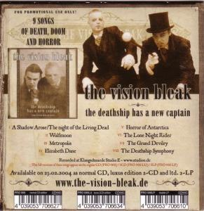 Vision Bleak, The - Cover