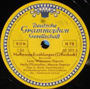 Jacques Offenbach: Hoffmanns Erzählungen - Cover