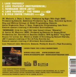 Eminem: Lose Yourself (Single-CD) - Bild 2